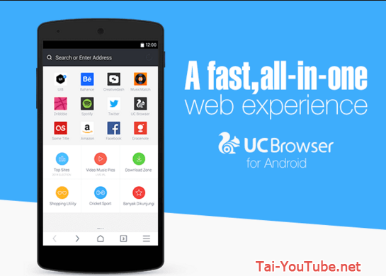 Hình 2 - Tải trình duyệt UC Browser cho hệ điều hành Android