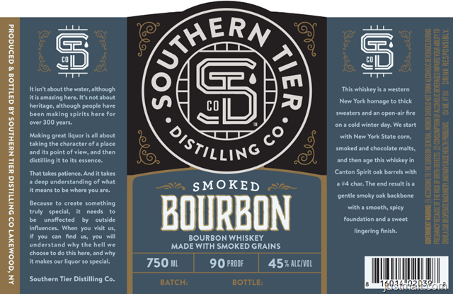 Southern Tier Distilling - Smoked Bourbon
