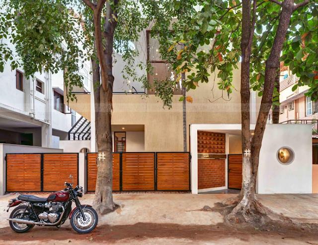 Khám phá House Sampada mẫu biệt thự nằm giữa con phố Bangalore