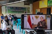BBPP Batangkaluku Memfasilitasi Tiga Titik Wilayah Koordinasi Ikuti Pelatihan Petani dan Penyuluh Yang Dibuka Presiden Jokowi
