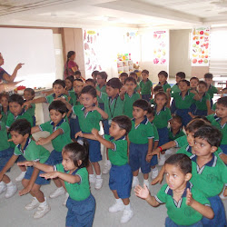 Pre primary day start  Meditation  and  Exercise