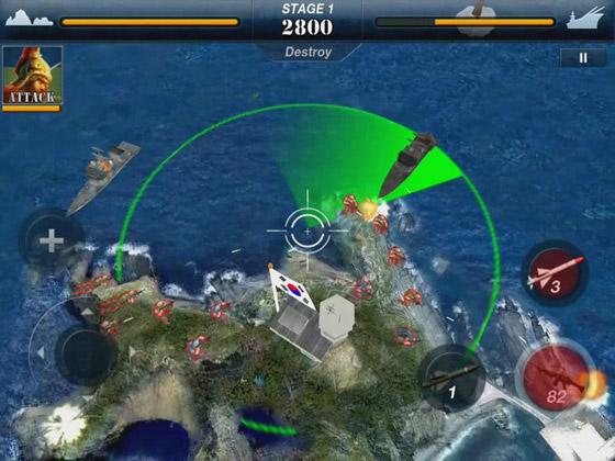 Loạt ảnh ấn tượng của game di động Dokdo Defence