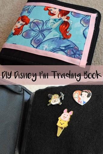 DIY Disney Pin Trading Book