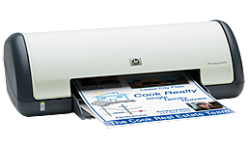 Instructions on download and install HP Deskjet D1470 inkjet printer driver program