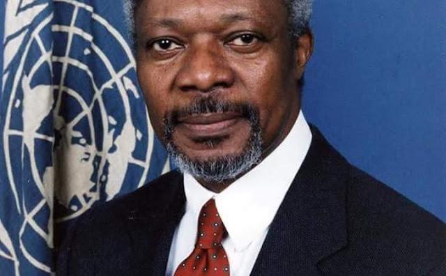 Kofi Annan, former UN Secretary General is dead