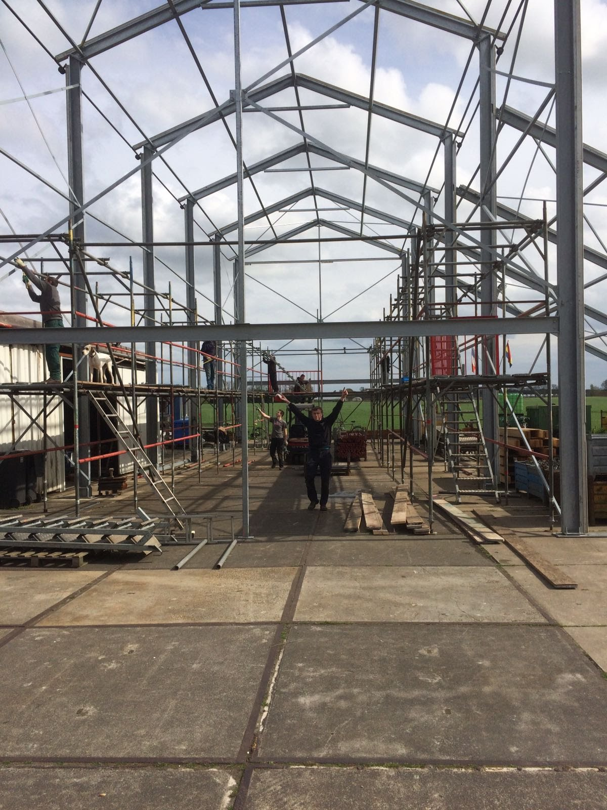 Tent bouw 2017