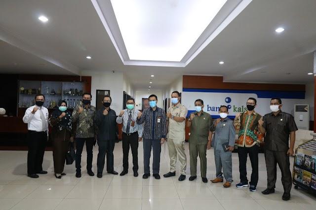 Rencana Penambahan Modal, DPRD dan Pemkab Tala Kunjungi Bank Kalsel