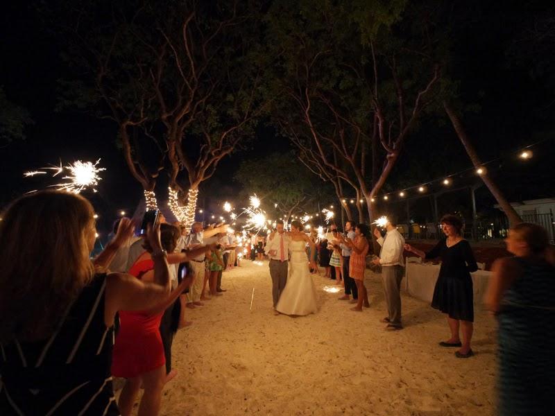 Big Florida Beach Wedding Reception Site Key Largo