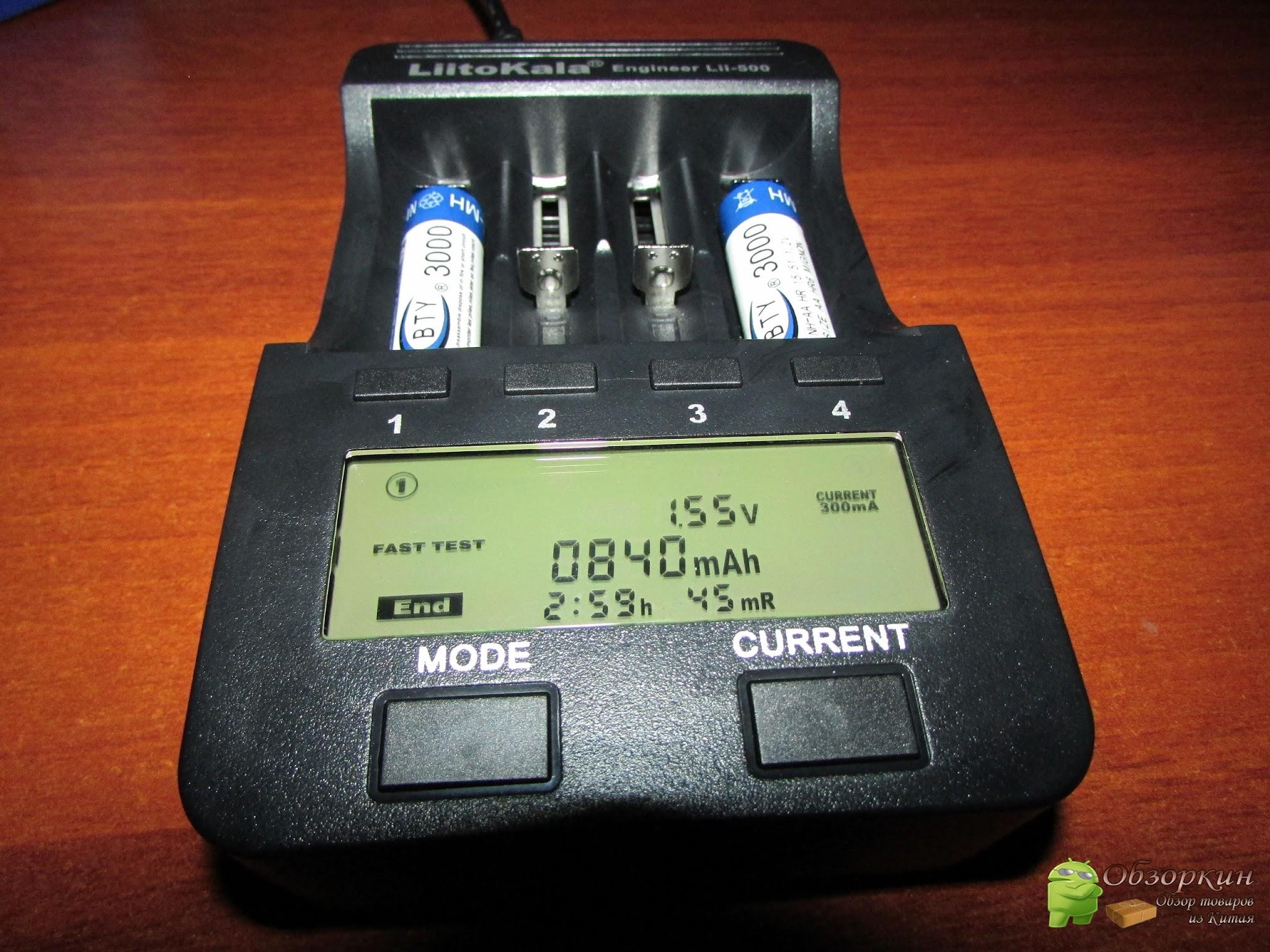 Зарядник LiitoKala Lii-500 для аккумуляторов Ni-MH/Cd и Li-ion. Посылка с Aliexpress
