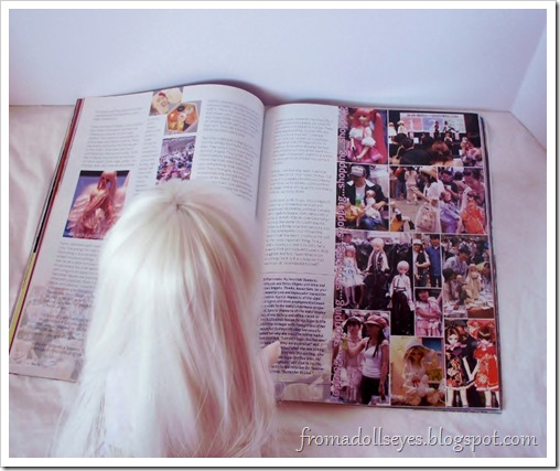 Bjd Lifestyle: Haute Doll Magazine, The Bjd Issue? Looking at an article about doll conventions.
