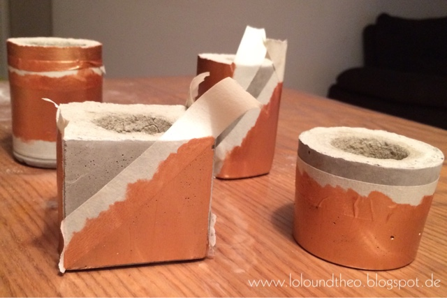 lolo und theo diy kerzenhalter aus beton. Black Bedroom Furniture Sets. Home Design Ideas