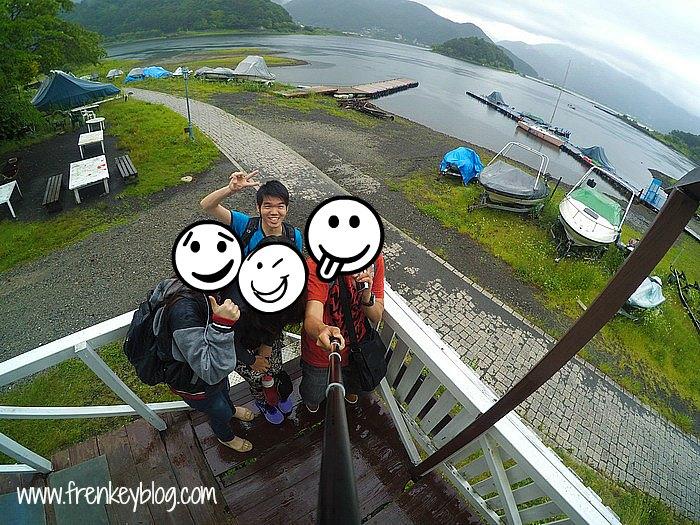 Wefie di Shikishima No Matsu - Saiko Lake