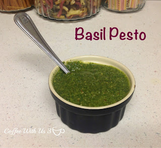 Basil Pesto by Coffee With Us 3 #recipes #freezing