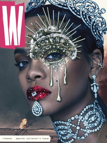 Rihanna in for W Magazine