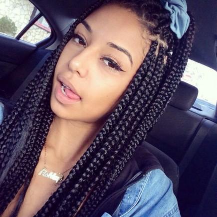 2016 fabulous long box braids hairstyles for black woman