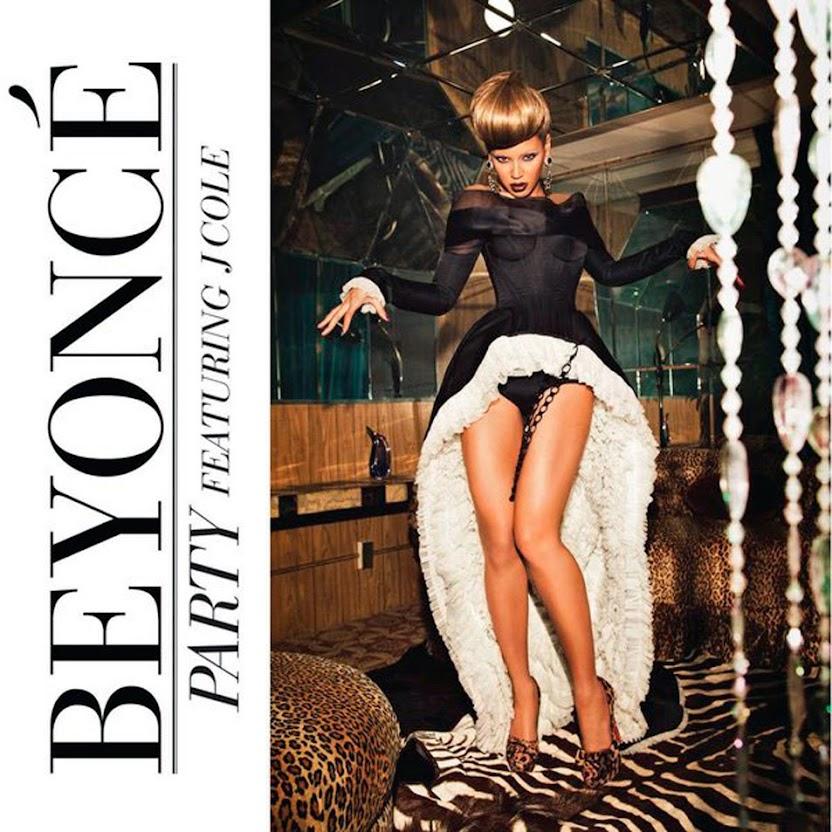Beyonce: Party - portada de la versión con J. Cole