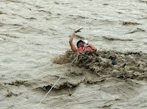 Do některých oblastí se záchranáři ještě stále nedostali. (Foto: Archiv ČvT)
