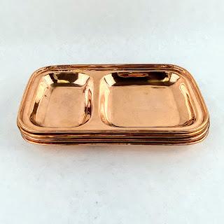 This Co. New Copper Dish Set Of 4