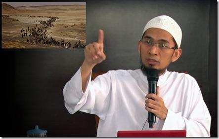 Ustad Adi Hidayat Rombongan Hijrah Nabi