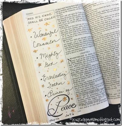 Bible Art Isaiah 9-6