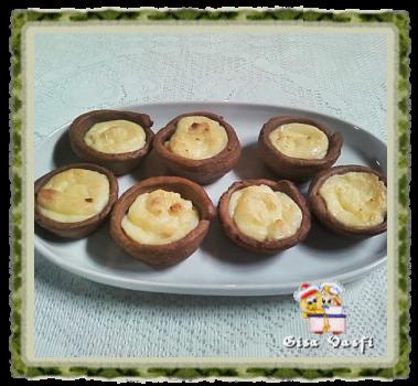 Pastel de nata de chocolate 1