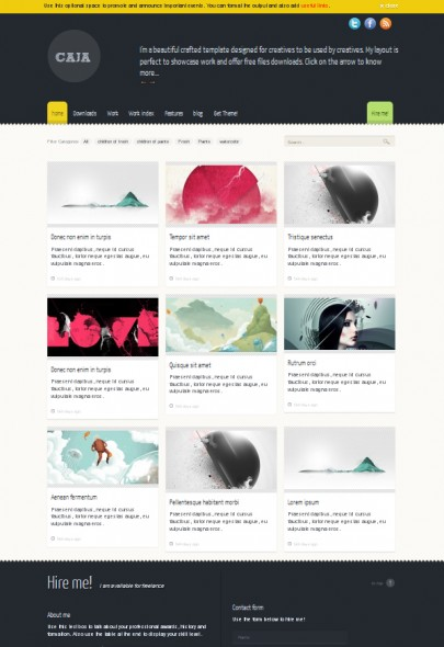 Temas gratuitos para wordpress con estilo pinterest