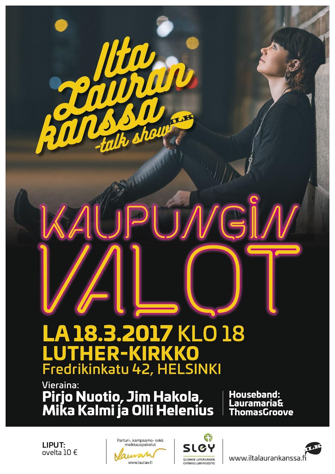 Kaupungin valot 18.3.2017 @Helsinki, Luther-kirkko - ILK_180317_hki_lutherinkirkko_juliste_netti.jpg