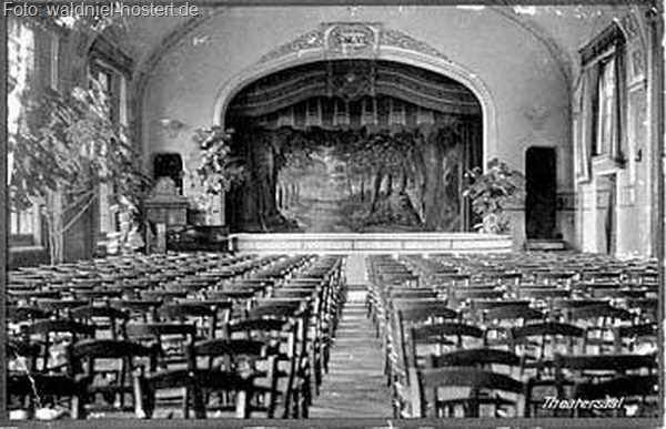 Theatersaal, um 1930