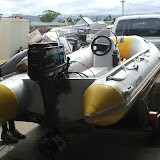 Tamar's new rescue / coaches boat