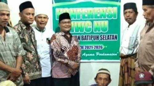 Konferensi MWCNU Batipuh Selatan Tetapkan Edwin Katik Basa Rais Syuriah dan Nofrizal Ketua Tanfidziyah