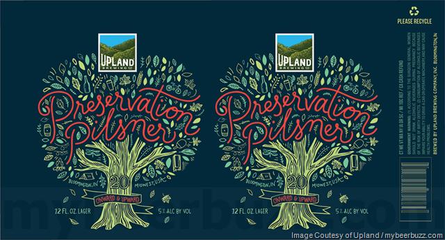 Upland Brewing - Preservation Pilsner Cans
