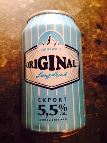 Can of Finnish Lonkero - Gin with grapefruit soda