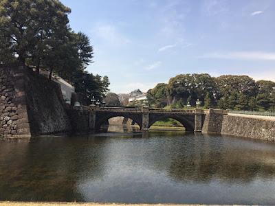東京の桜を観賞がてらの散歩