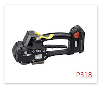 P318 塑鋼帶電動打包機