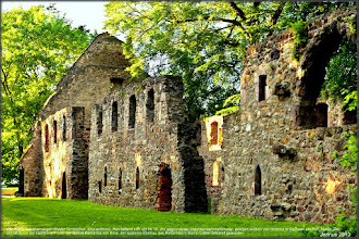 Photo: convent in Saxony