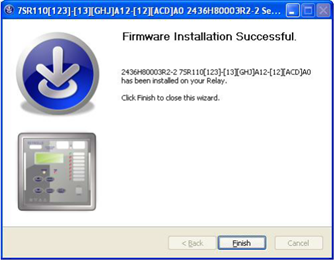 Congratulations.. Firmware Successful