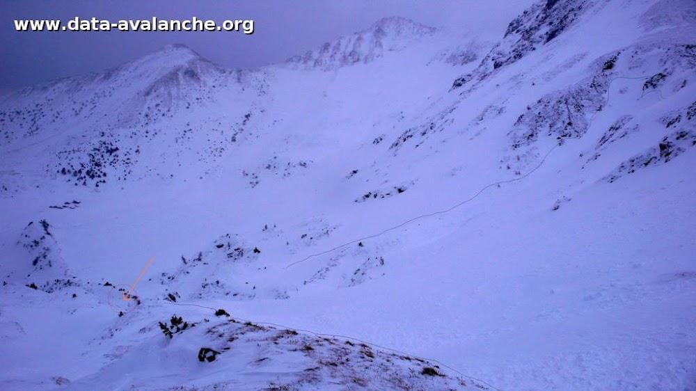 Avalanche Valais, secteur Tête de Balme, Hors piste versant Valaisan - Photo 1
