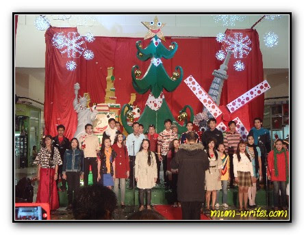 SM ChriSMs,  Holy Angel University Chorale, Sm pampanga, events, christmas