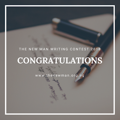 New Man Movement announces Opeyimika Aremu and two others as  2018 Writing Contest Winners