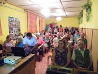 12 - Takács András, a község díszpolgára a résztvevők között.JPG