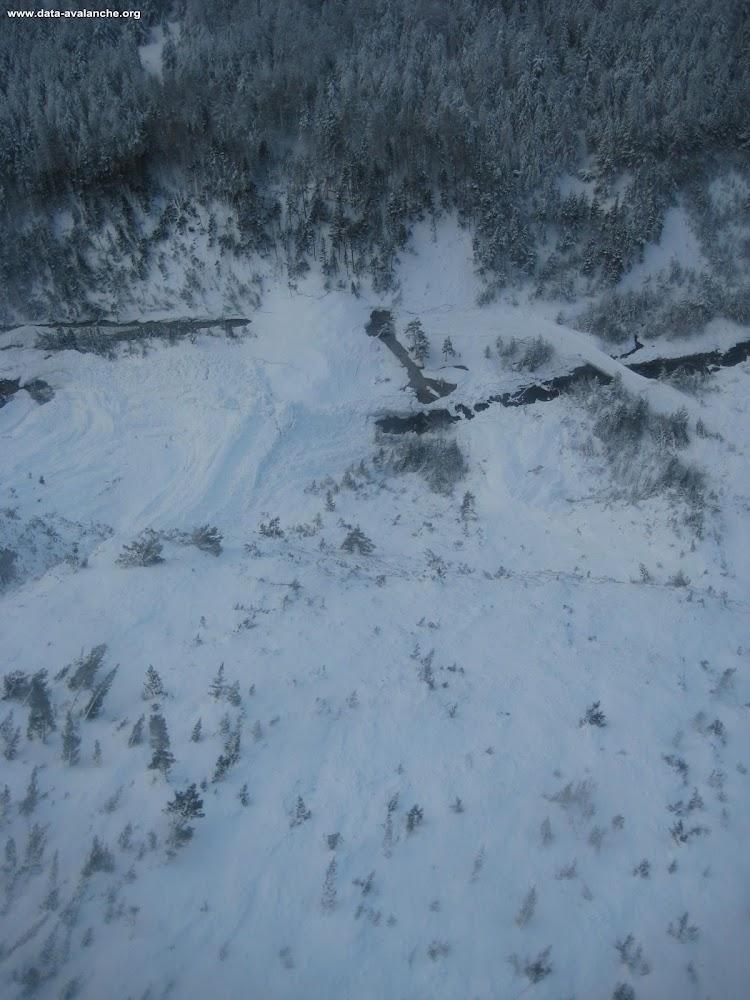 Avalanche Cerces, secteur Sommet du Guion, Ravin de Roche Méane - RD 994G (Route de Névache) - Photo 1