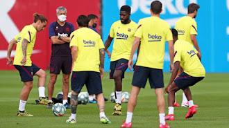 Ya todo es normal en el FC Barcelona.