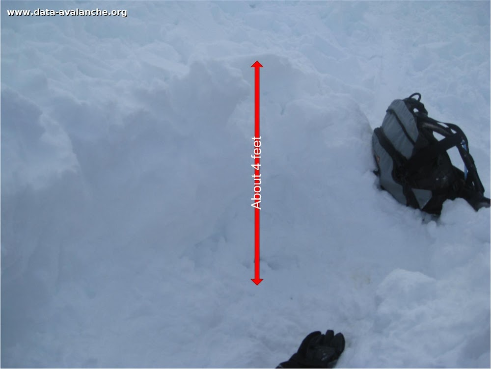 Avalanche Aravis, secteur Tête Pelouse, Combe du Grand Crêt - Photo 1