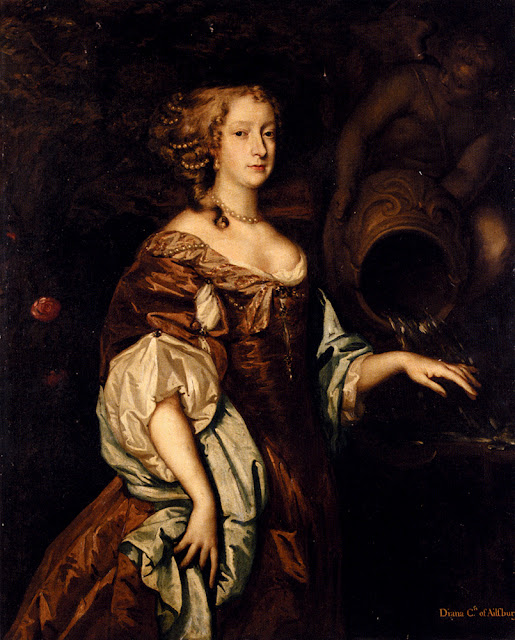 Peter Lely - Portrait of Diana, Countess of Ailesbury