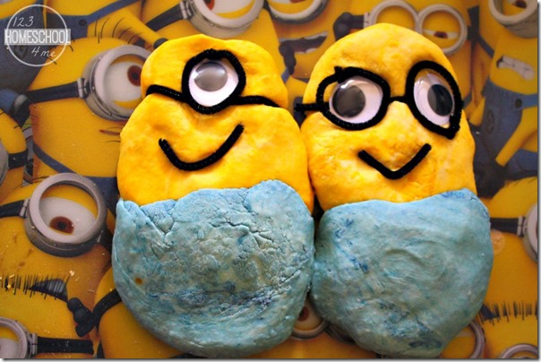 Minions Squishy Circuits