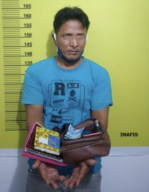 Stand By di Warung Tunggu Pelanggan, Polsek LBJ Bekuk Bandar Togel
