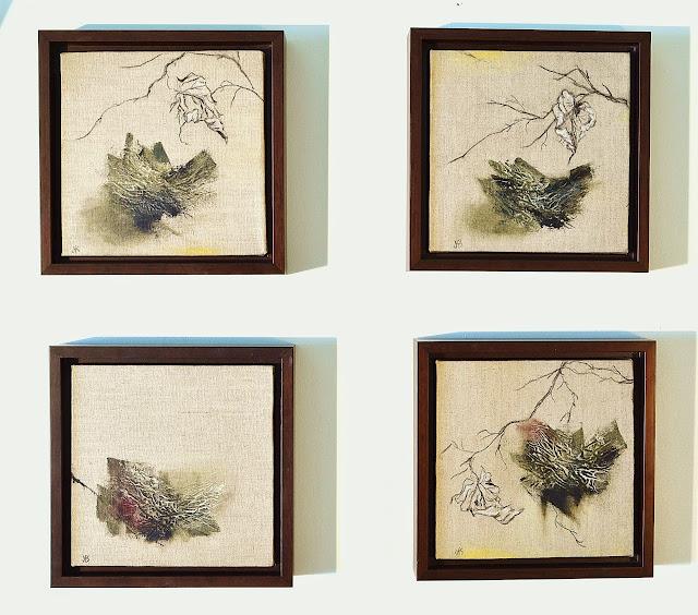 Small Paintings - %2527Dialogue%2527%2Btetraptych%252C%2Beach%2Bpiece%2B8x8%2Binches%252Coil.%2Bcharcoal%252Cchalk%2Bon%2Blinen.%2BJoanSkeet%252C%2BDSC_0041.JPG