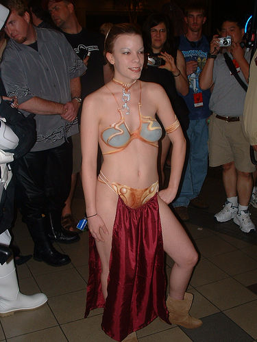 STAR WARS BODY PAINTED COSPLAY BABES 04