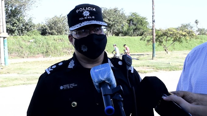 Murió Adrian Forni, jefe de Policia de la UR2 Rosario, por coronavirus