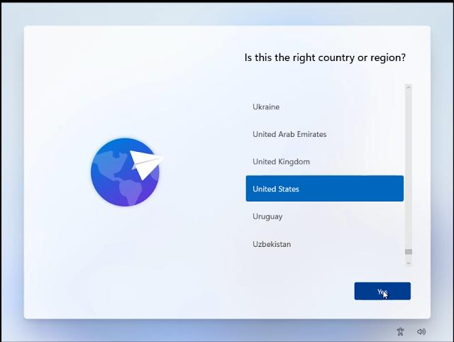 Select Windows 11 Language